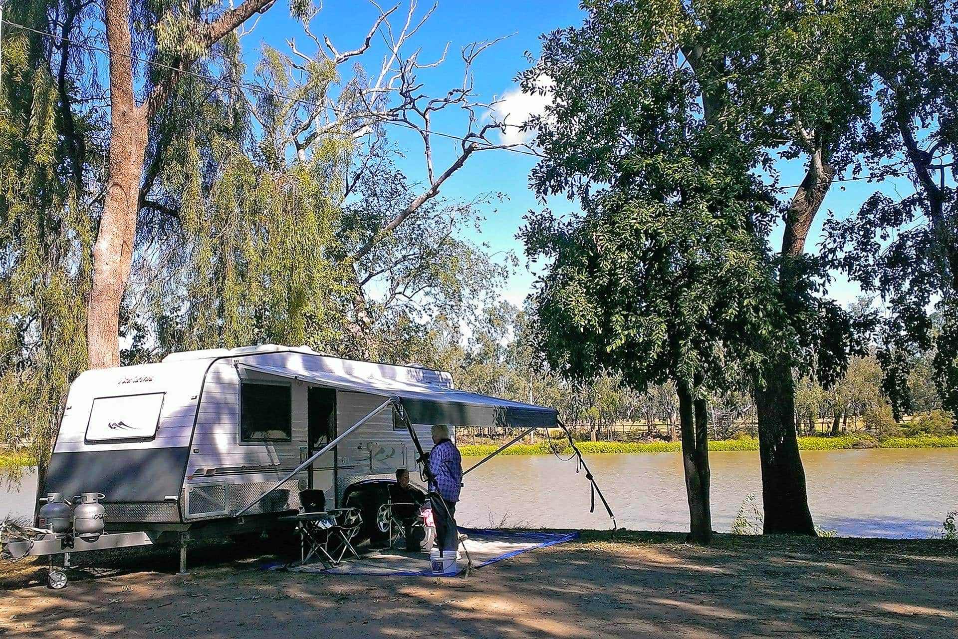 How To Gps A Phone >> Camping at Neville Hewitt Weir, Baralaba in the Banana Shire
