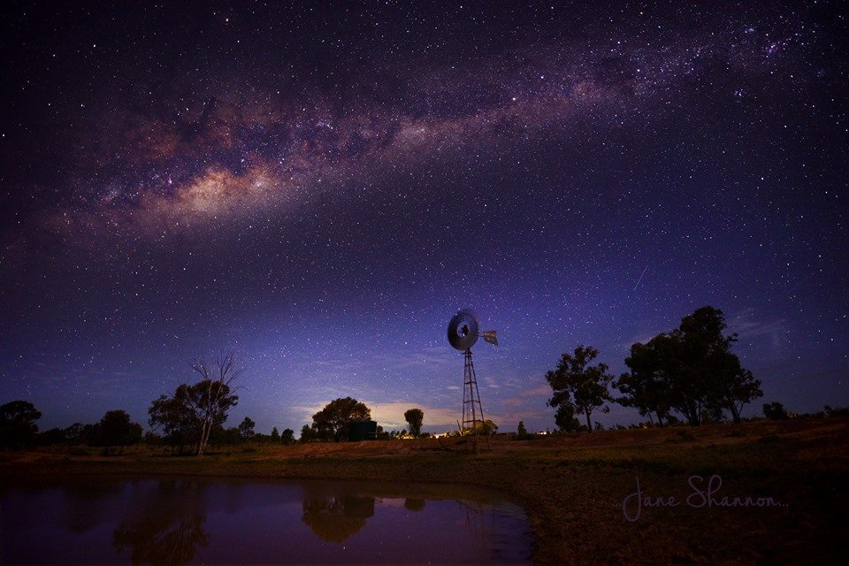 Milky Way and Windmill