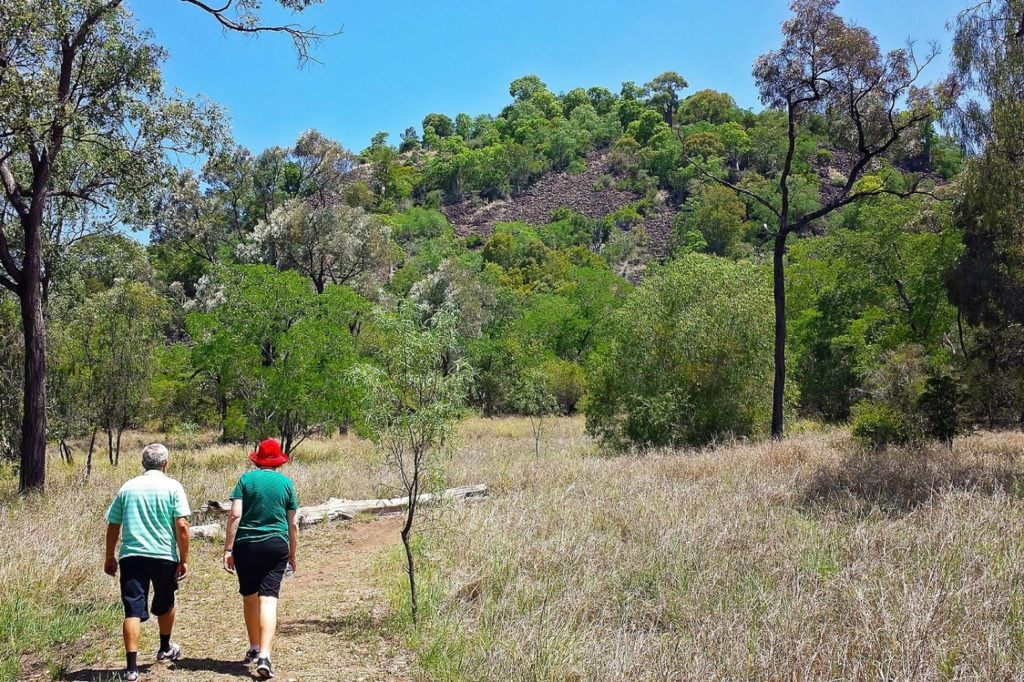 Mt Scoria walking track