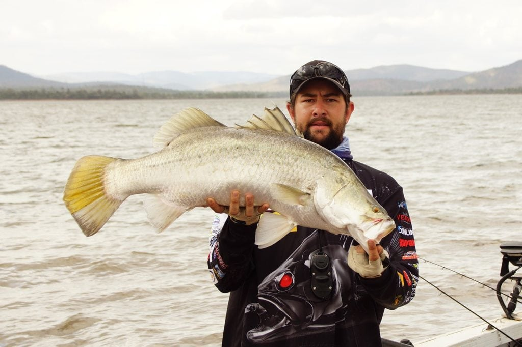 Barra Catch At Callide Dam