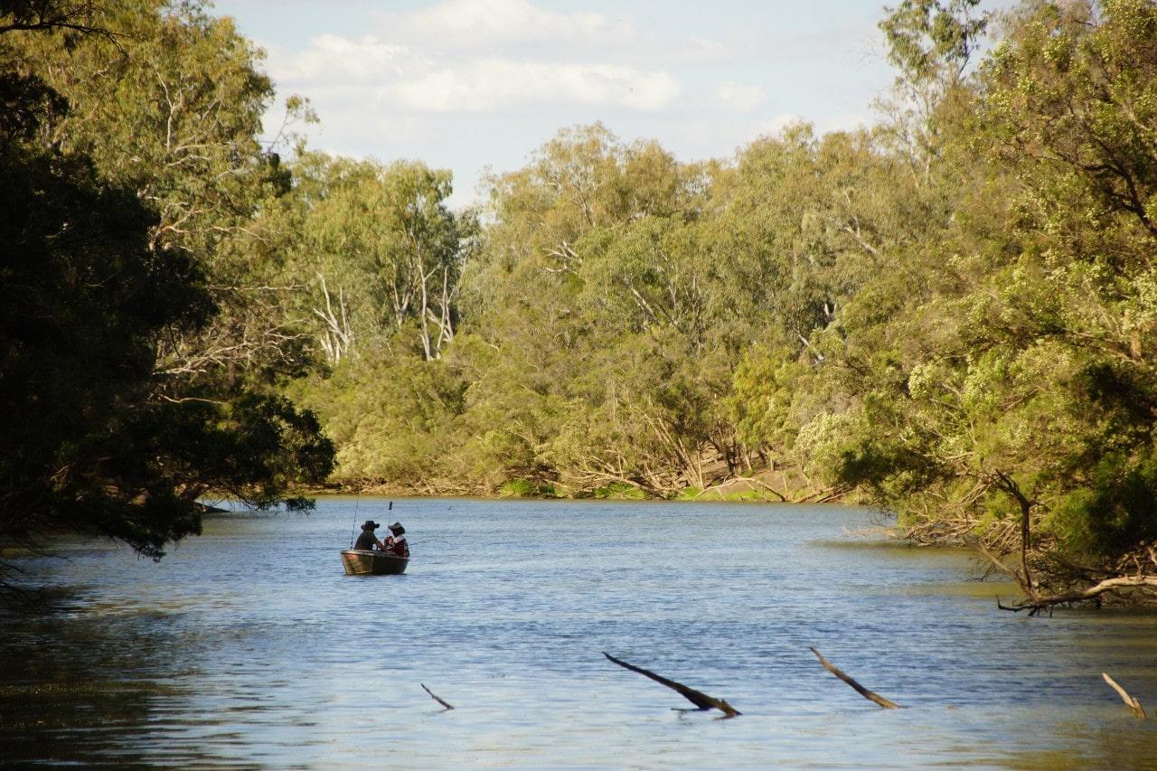 Fishing Taroom River